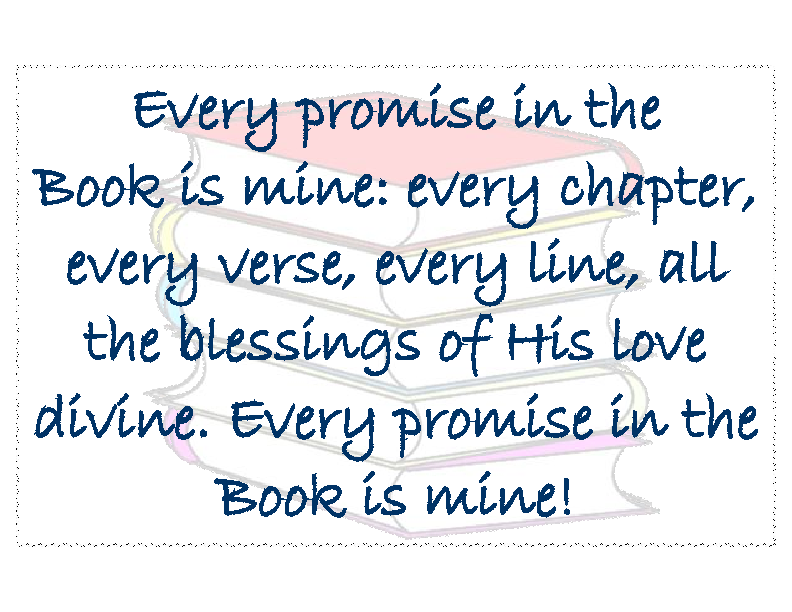 Every promise in the Book